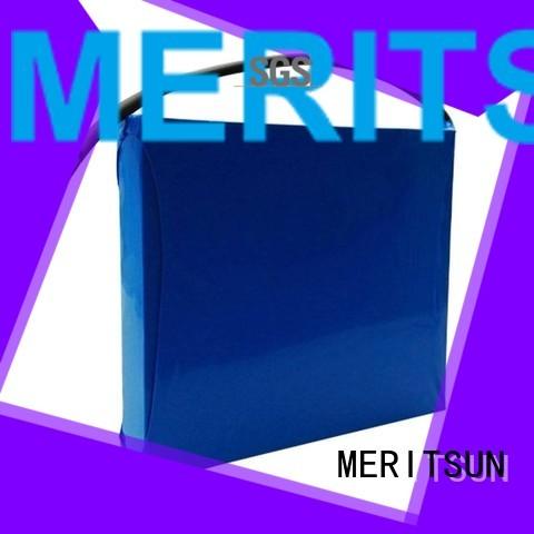 MERITSUN Brand all linicomno2 street lithium ion battery for solar street light lipo