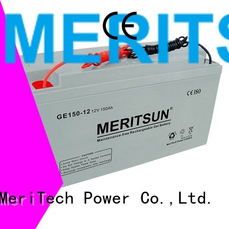 vrla gel battery battery MERITSUN Brand opzv battery