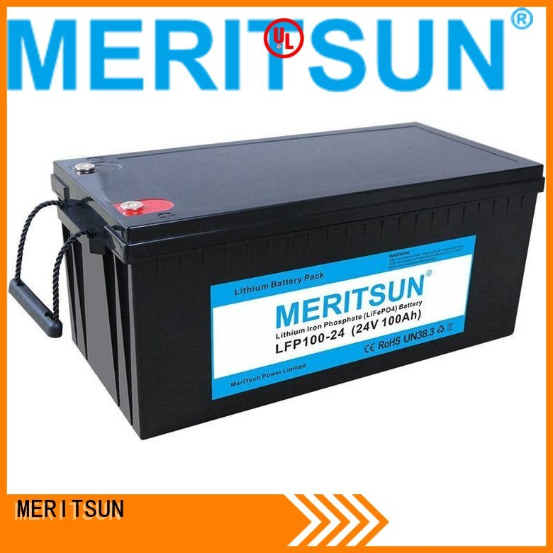 battery pack lifepo4 battery price MERITSUN Brand