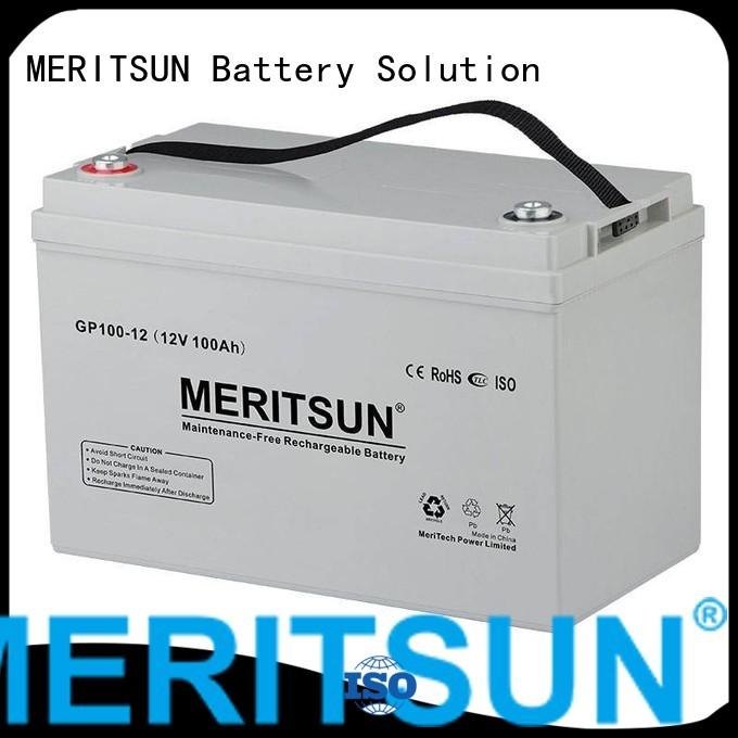 vrla gel battery gel opzv opzv battery front MERITSUN Brand
